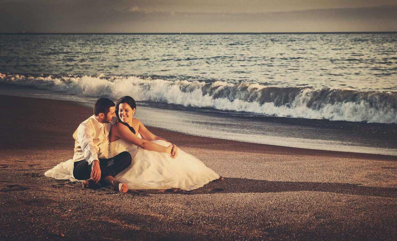 Post-boda en playa
