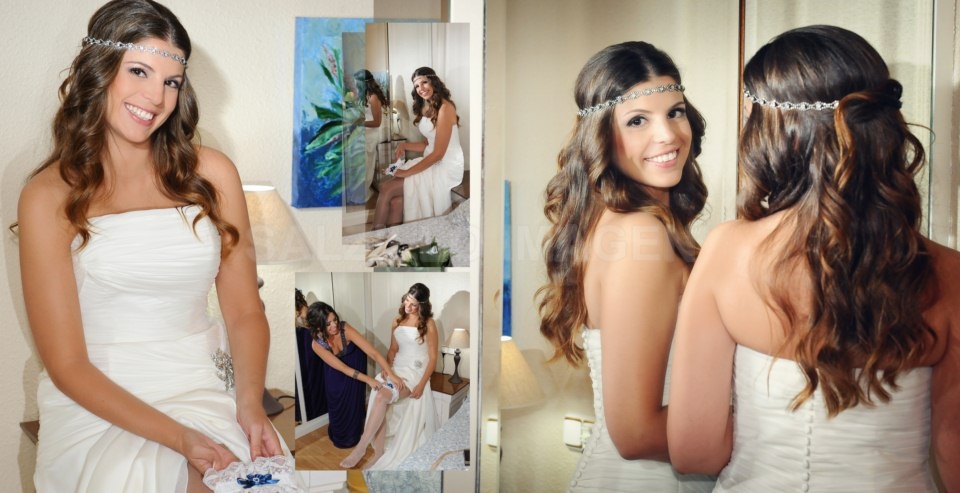 Fotos de novia - Elegir peinado de novia