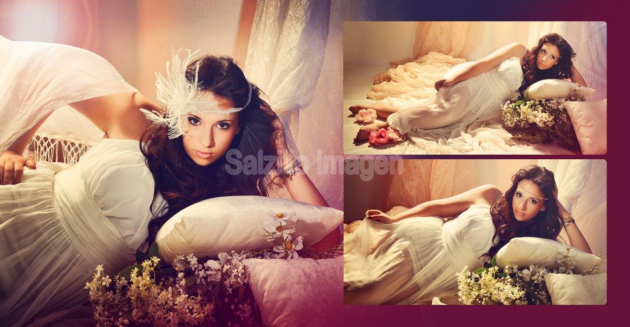 Ana - Book fotos de estudio - Fotógrafos Murcia bodas comuniones estudio bautizos bebes.