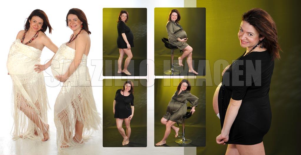 fotos estudio embarazo - Eva - Fotografos estudio embarazada