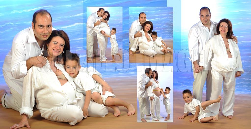 Eva - fotografia de estudio embarazada