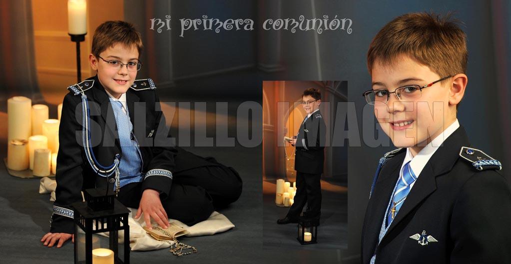 Juan José - Álbum de primera comunión.