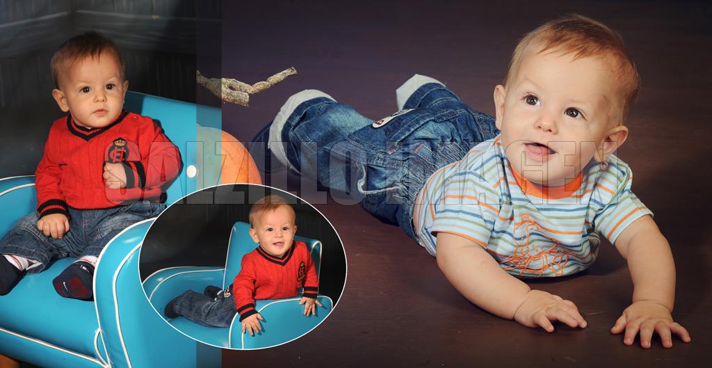 Lionel - Fotografía de estudio bebé