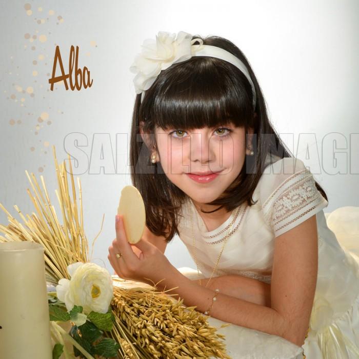 Primera comunión de Alba