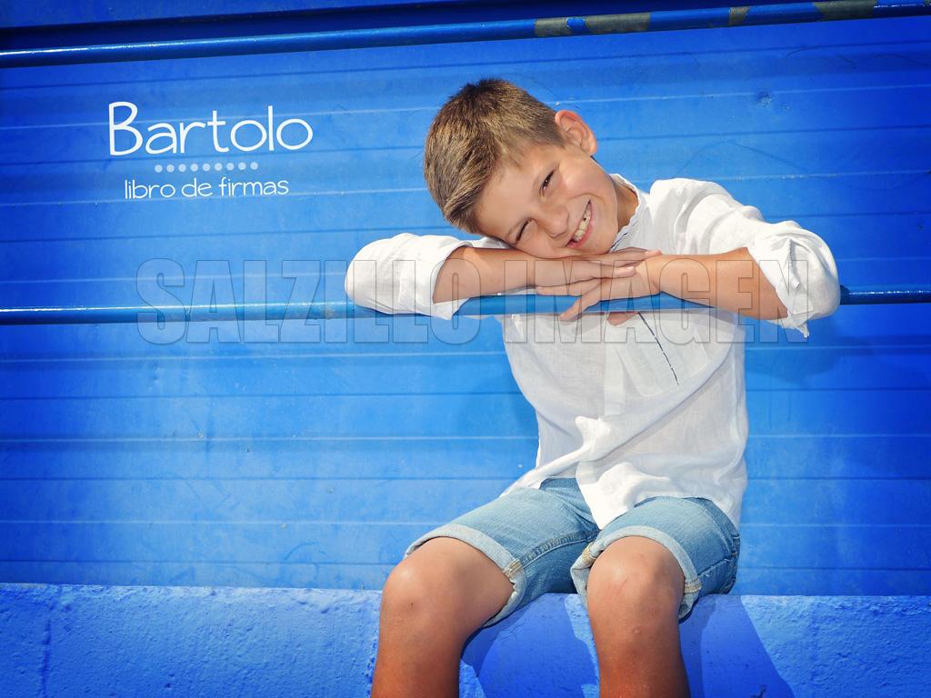 Bartolo - Fotografías de comunión - Libro de firmas