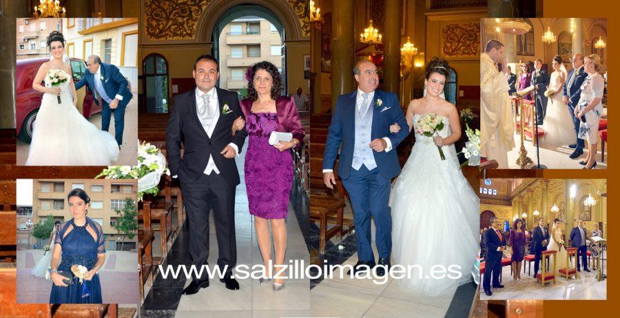 David y Amparo, boda.