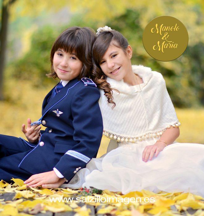 Manolo y María, primera comunión
