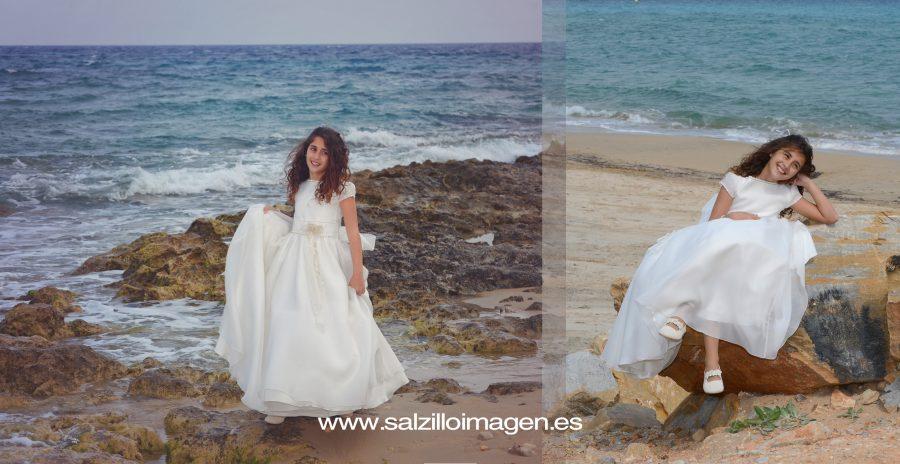 Álbum de Lucía. Fotografía de estudio, playa y paisajes.