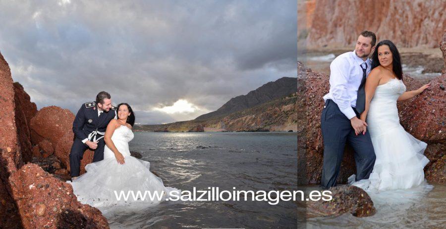 Boda Civil Sergio y Marina - La Toscana, playa de Mazarrón