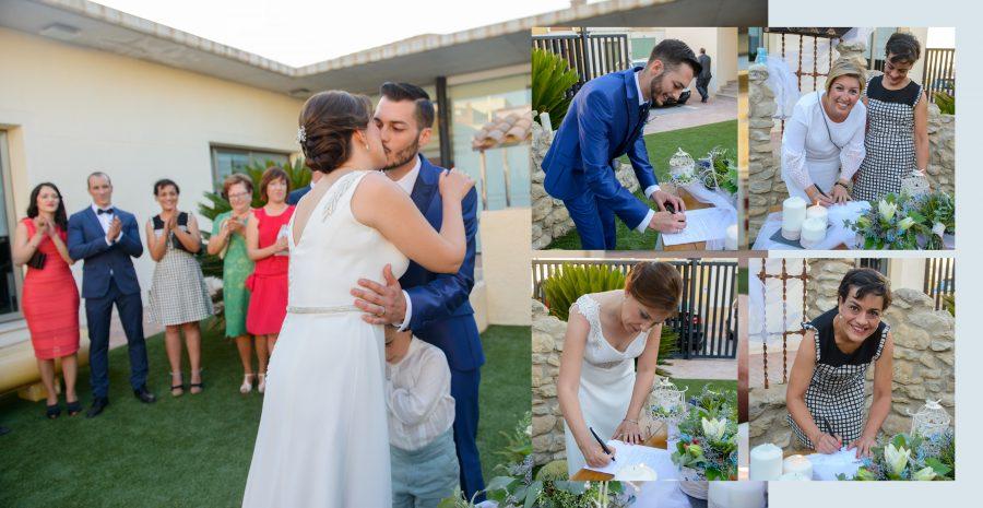 Jose y Pablo, boda.
