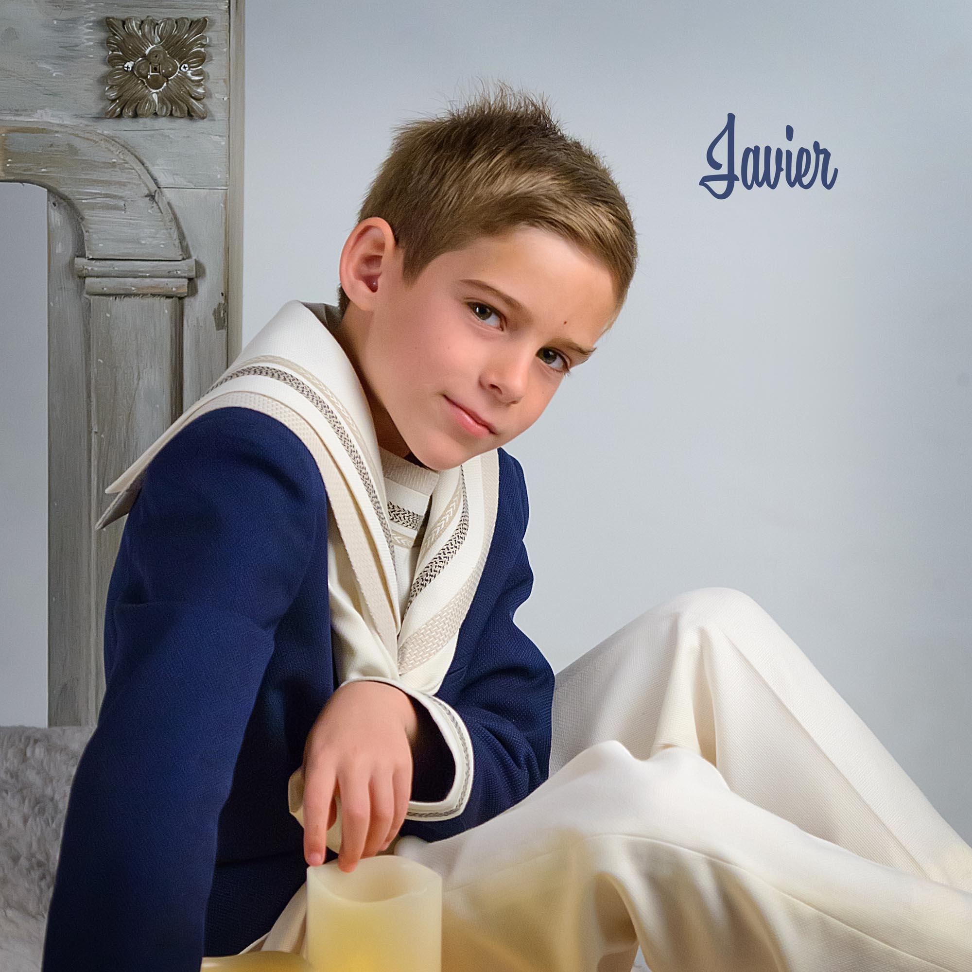 Javier, primera comunión